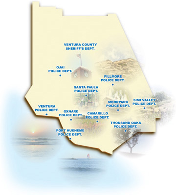 Ventura County CIT Map